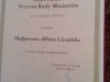 Stypendium Prezesa Rady Ministrów Warszawa 2014